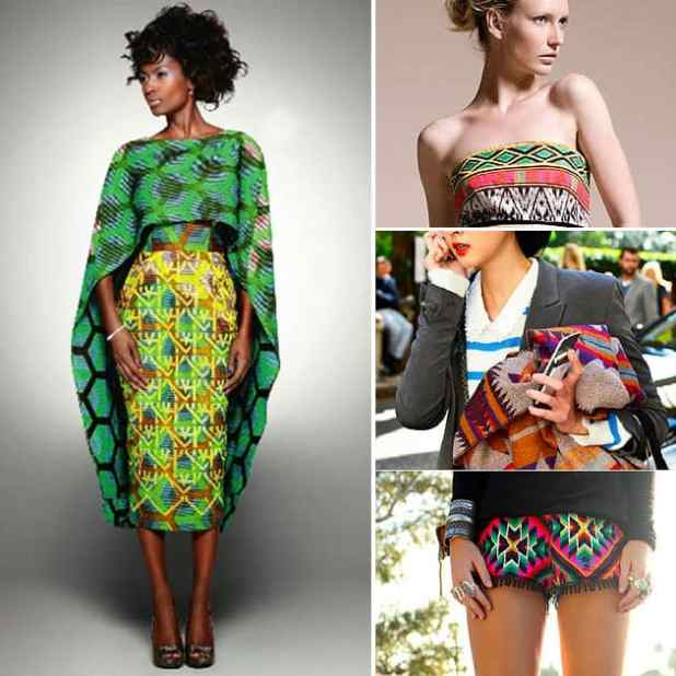 estampas com mote africano