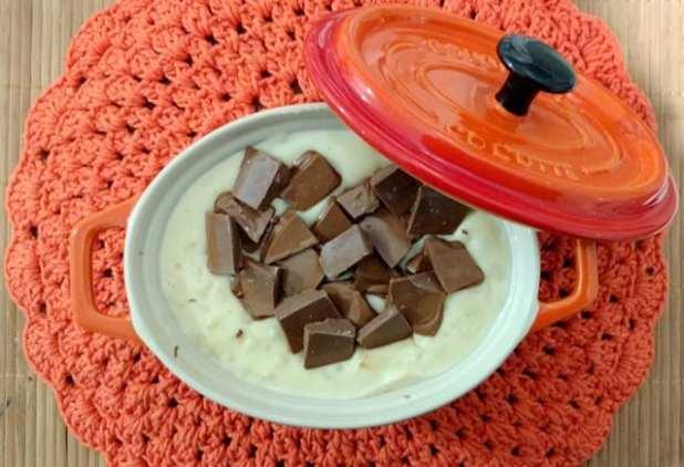 canjica com chocolate e coco 2