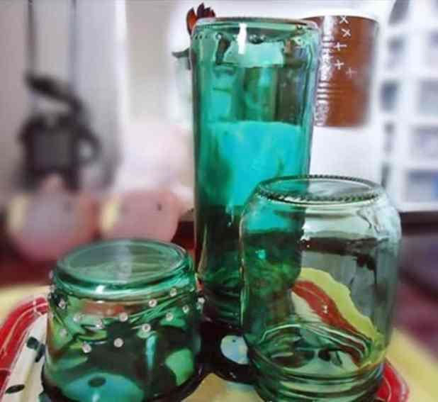 Decoração sustentável com vidros 4