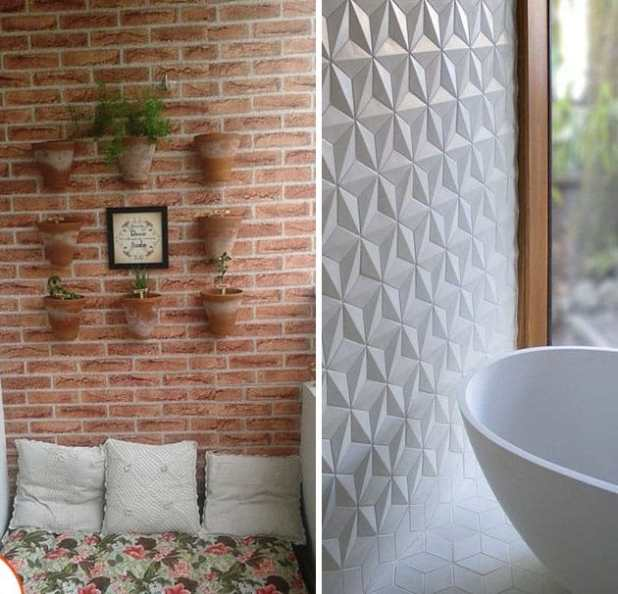 Papelde parede texturizado