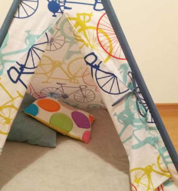 Cabaninhas criativas para crianças quarto