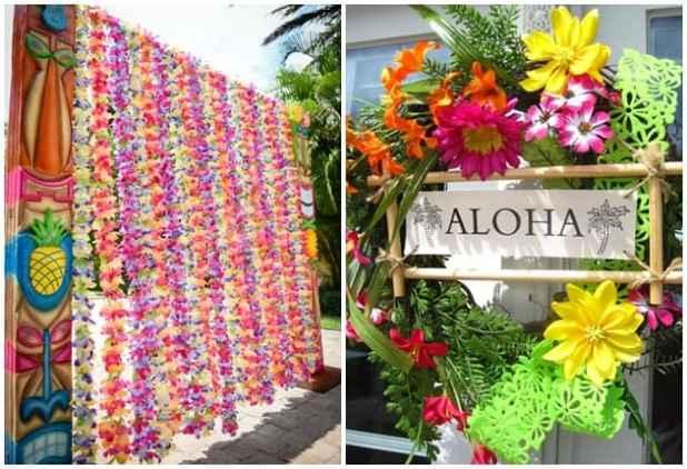 Resultado de imagem para festa havaiana