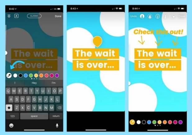 Como usar o Instagram Stories para divulgar seu negócio criativo criar cores