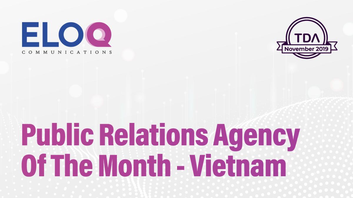TDA announces EloQ Communications as winner in global agency award – EloQ