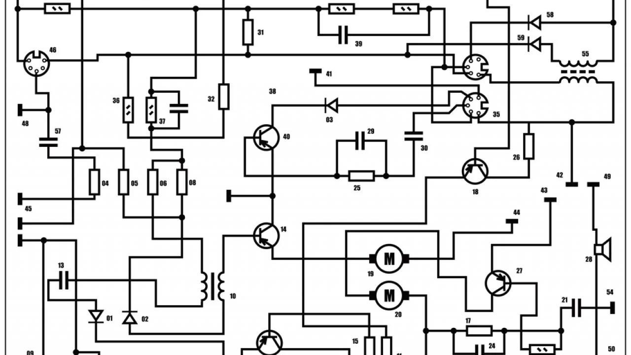 Car Electronics Diagram : Car Electrical Diagram