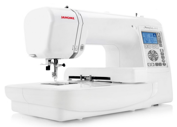 Janome MC200E Memory Craft Embroidery Machine