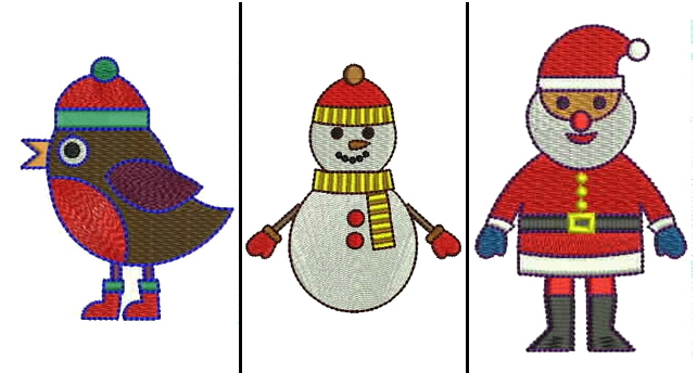 christmas applique designs
