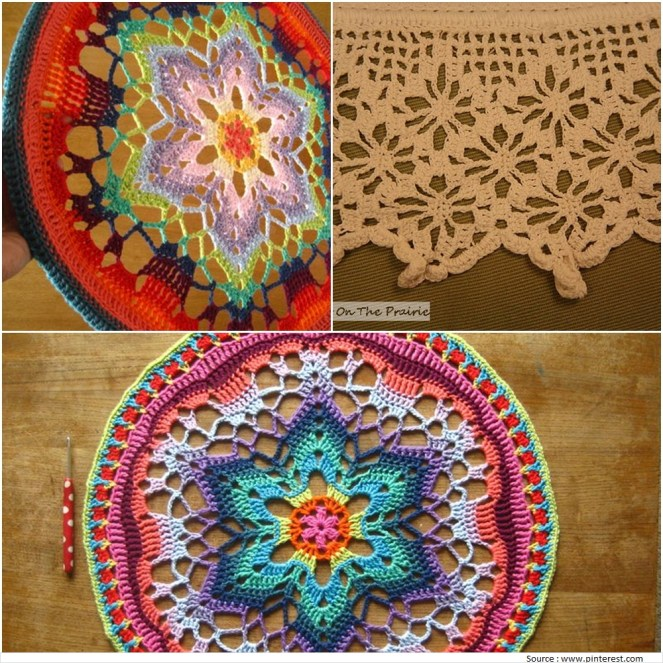 Crochet Embroidery Designs