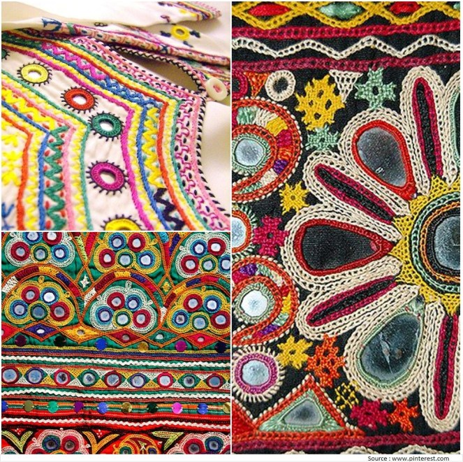 Kutch Embroidery Designs