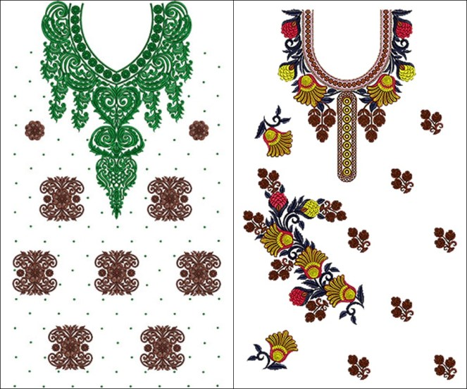 Download Punjabi Suit Embroidery Designs Online Emb Dst File