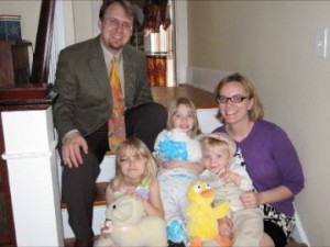 The Hickerson Family at Easter