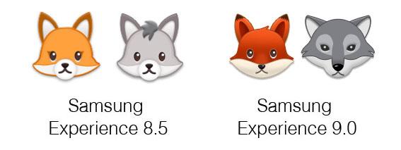 Samsung-Experience-9-0-Emojipedia-Fox-Wolf
