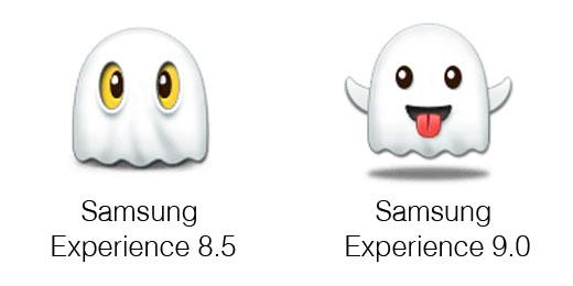 Samsung Experience 9.0 Emoji Changelog