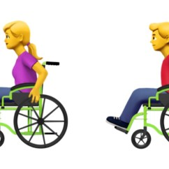 Wheelchair Emoji Animal Pillow Chair Apple Proposes New Accessibility Emojis Person In Manual Emojipedia