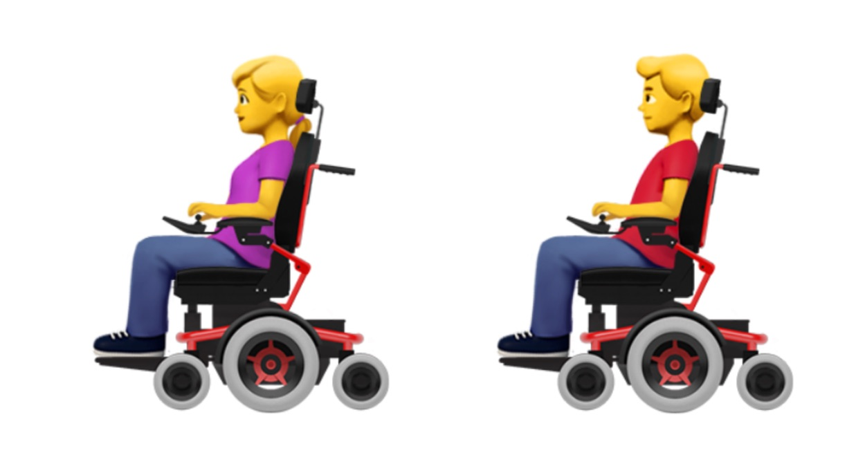 wheelchair emoji desk chair under 20 apple proposes new accessibility emojis person in mechanized emojipedia