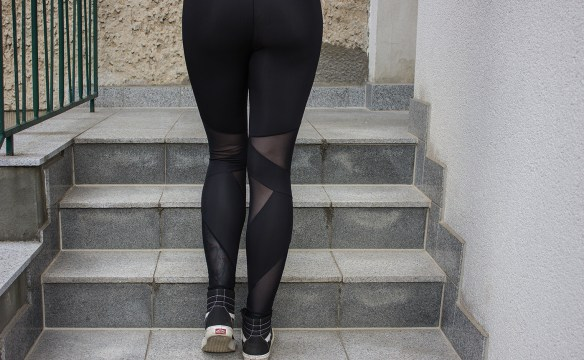 Ladies Triangel Tech Mesh Leggings von Urban Classics