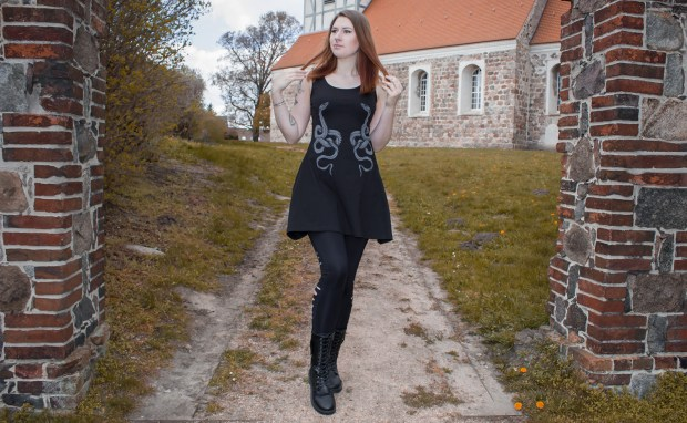 Feel The Sun Kleid von Rock Rebel By EMP