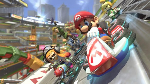 Der Klassiker: Mario Kart 8 Deluxe.