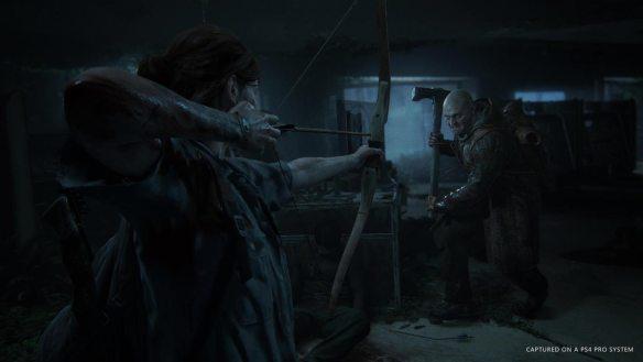 Ellie trifft auf brutale Überlebende - und muss sich wehren.
