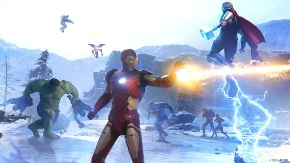 Marvel's Avengers verspricht Superhelden-Action ohne Ende.