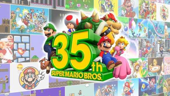 Den 35. Geburtstag von Mario feiert Nintendo richtig groß!
