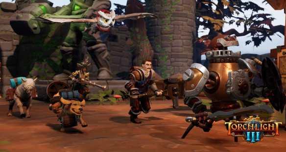 Torchlight III ist ab sofort für PlayStation 4, Xbox One und PC verfügbar.