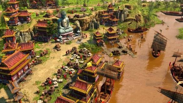 Die Age of Empires III: Definitive Edition braucht sich nicht zu verstecken.