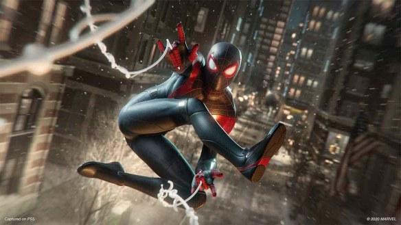Miles Morales als Spider-Man hat einige Tricks auf Lager.
