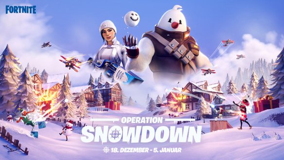 Operation: Snowdown in Fortnite ist ab sofort aktiv.