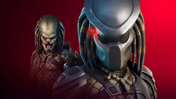 Mit dem Predator-Skin geht es in Fortnite auf die Jagd. Quelle: Epic Games.