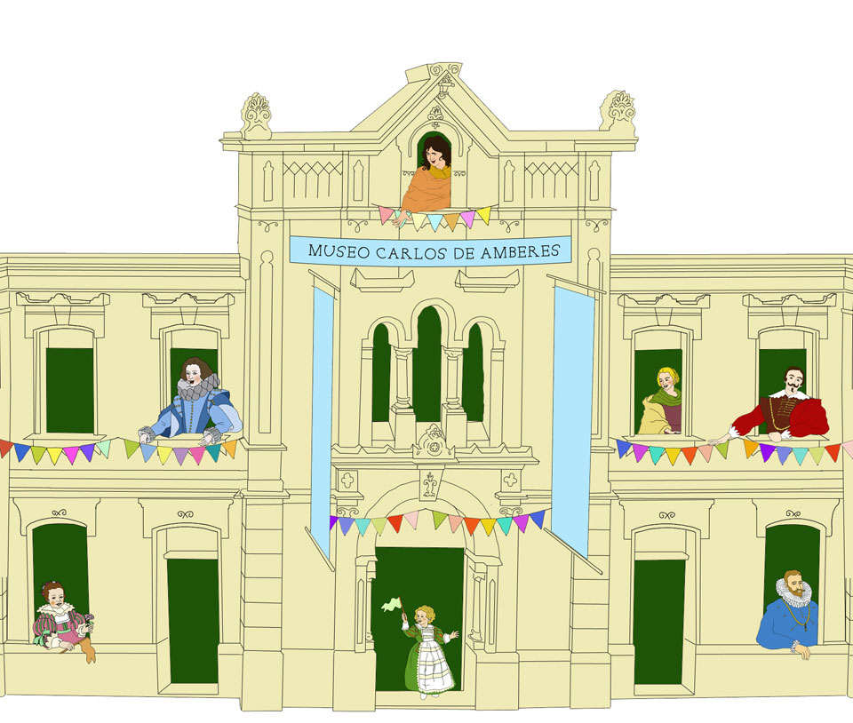 Museo Carlos de Amberes de Madrid  Hotel Emperador