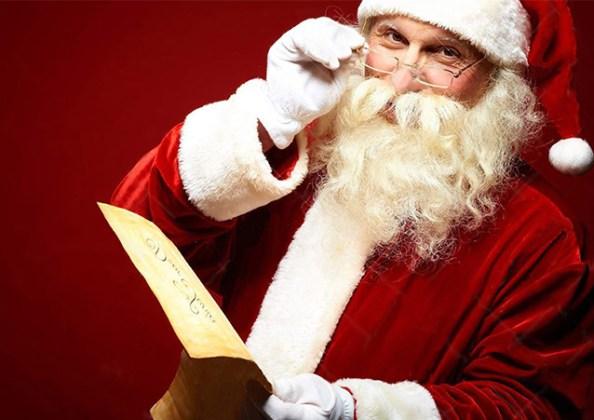 Papa Noel en el Hotel Emperador