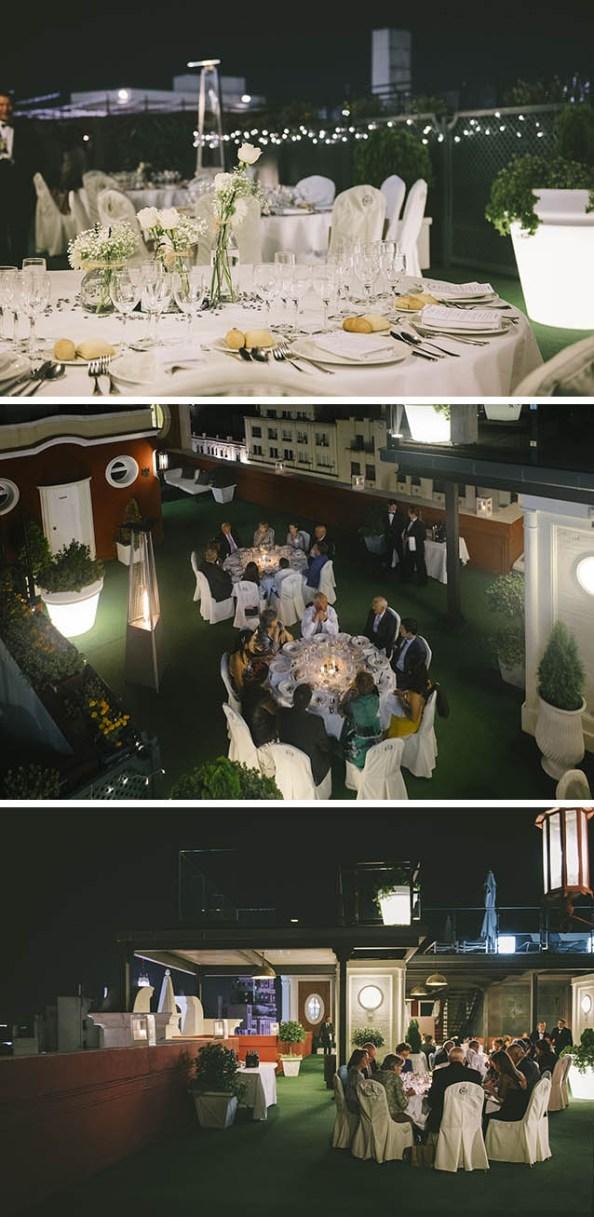 Terraza o salones, diferentes espacios para vuestra boda