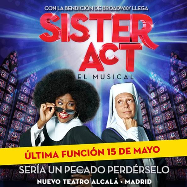 Sister Act, el Musical llega a Madrid hasta el 15 de mayo
