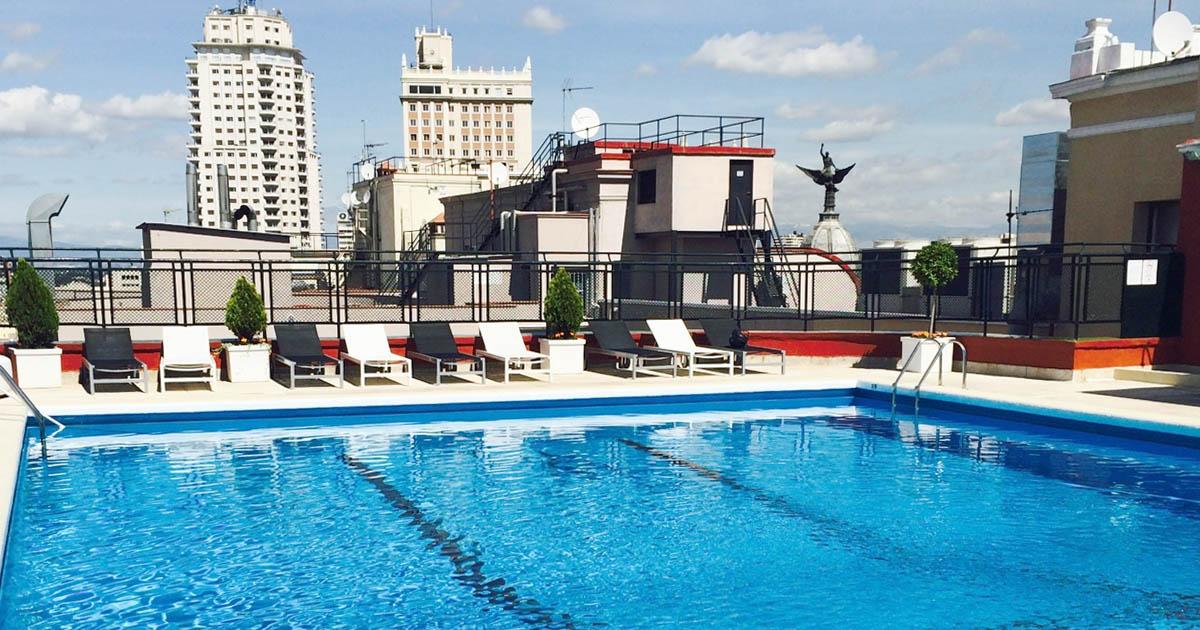 Piscina Hotel Emperador Madrid