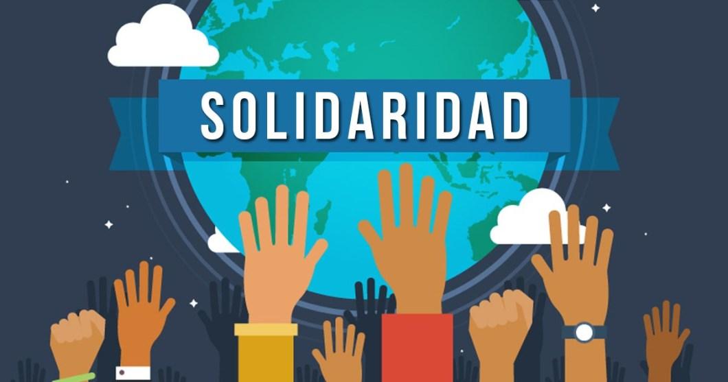 La Solidaridad es tarea de todos.