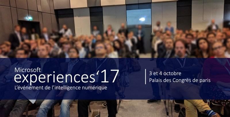 Microsoft Experiences 2017