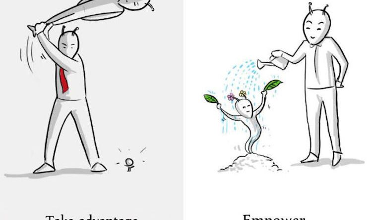 La différence entre un patron et un leader à travers 8 illustrations créatives