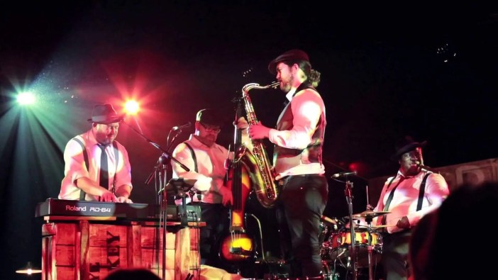 The Modern Vintage Swing Band are in high demand across England