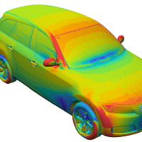 CFD Analysis of Vehicle Aerodynamics with ELEMENTS