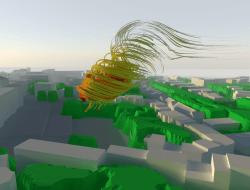 helyx wind simulation