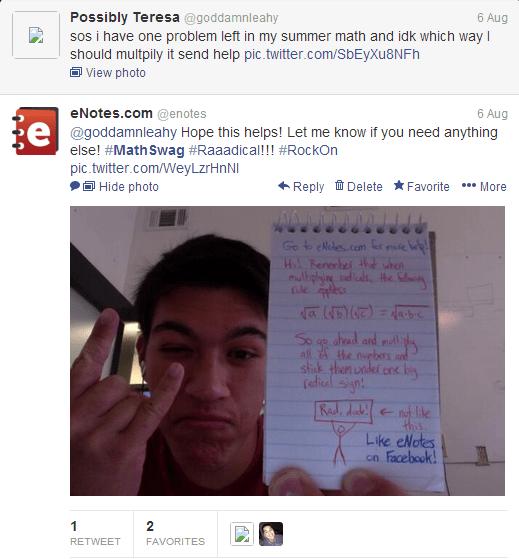 Enotes homework help