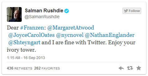 rushdie tweet