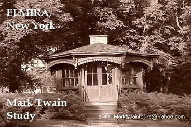 Mark Twain Study sepia