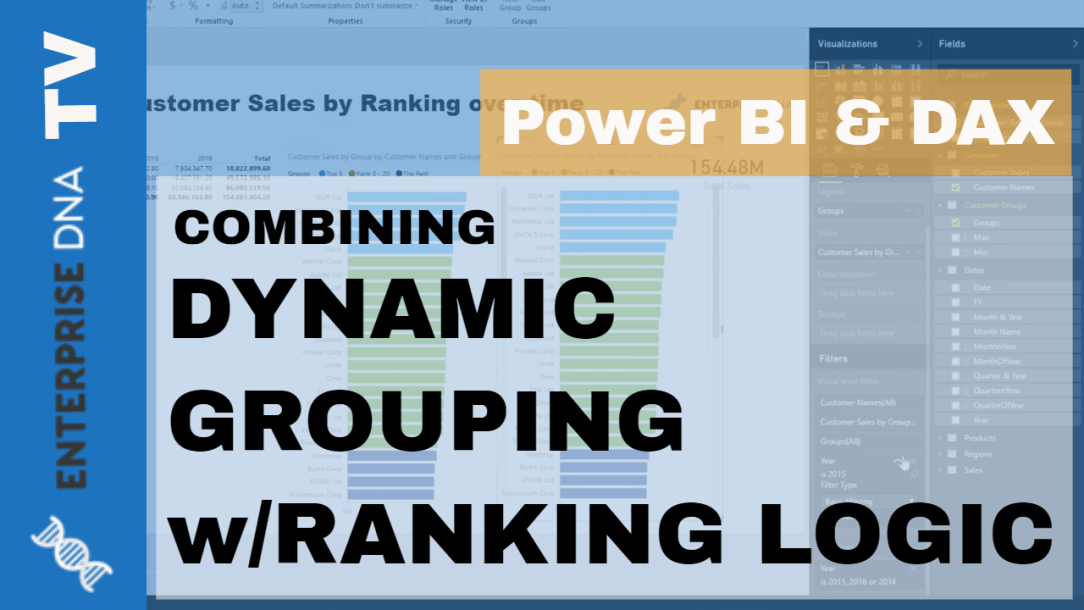 Group Customers Dynamically By Their Ranking w/DAX In Power
