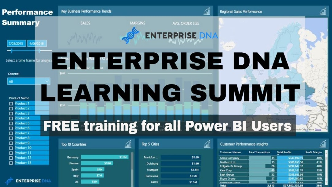 Enterprise DNA Free 3-Day Online Learning Summit