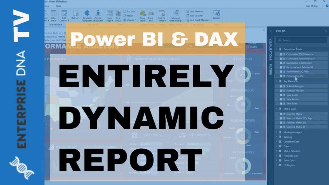 Dynamic Report Technique For Power BI