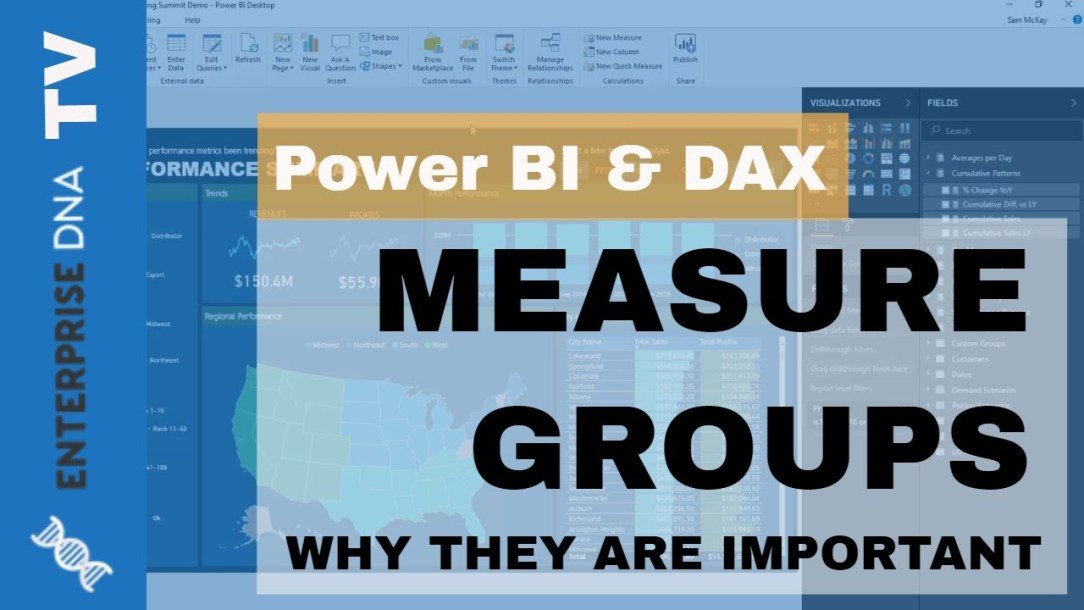 Implementing DAX Measure Groups Into Your Power BI Reports - Modeling Review