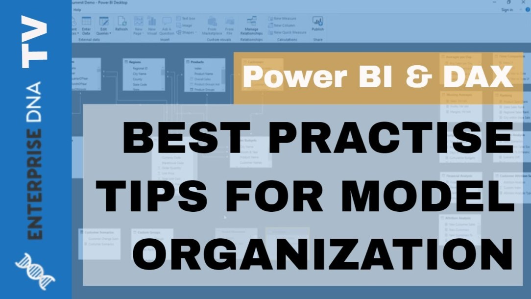 How To Organize Your Power BI Models - Best Practice Tips