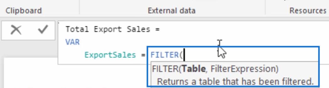 adding variables in power bi